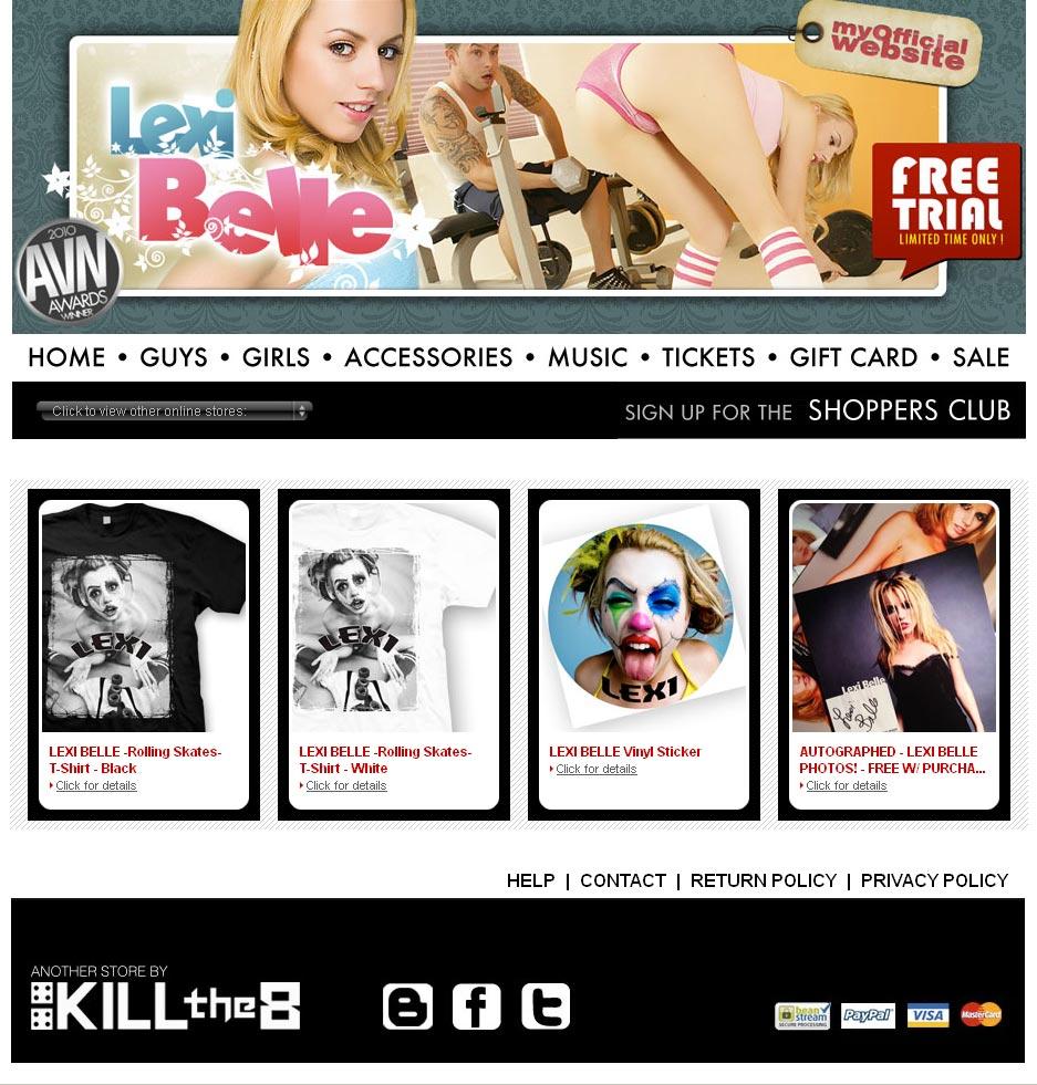 Lexi Belle Online Store