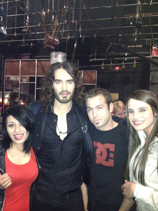 LA Direct and Russel Brand