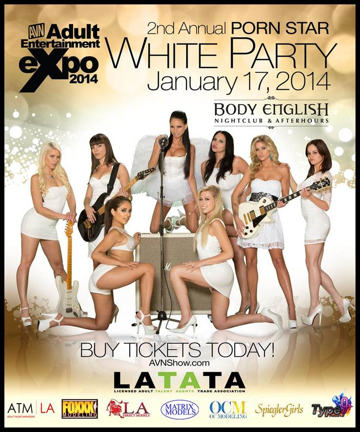 2nd Annual Porn Star White Party